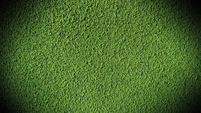 Cement wall green light Stock Images