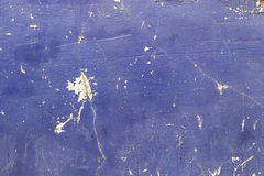 Cement wall painted blue Royalty Free Stock Photography