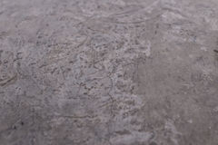 Cement wall with texture and crack on the surface. Gray tone is appear by the coating. Royalty Free Stock Image