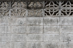 Cement wall textured background surface Architecture details Royalty Free Stock Images