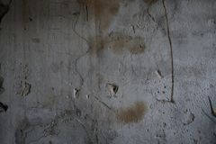 Cement wall with uneven texture royalty free stock photos