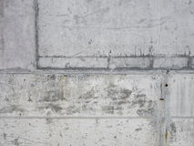 Cement wall up close. Cracked. Stock Image