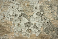 Cement on wood royalty free stock photo