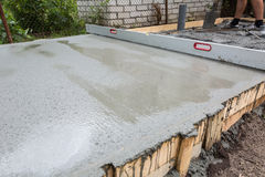Cement work Royalty Free Stock Photography