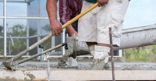 Cement Work Royalty Free Stock Photos