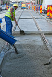 Cement worker Stock Photography