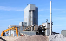 Cement Works Royalty Free Stock Photography