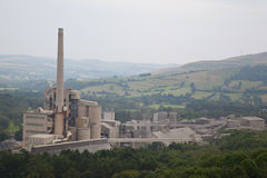 Cement works Stock Photography