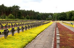 Cementary памяти Стоковые Фотографии RF