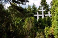Cementary памяти Стоковое Изображение