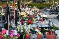 Cementary Stockbild