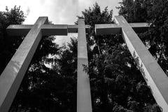 Cementary de mémoire Images libres de droits