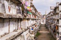 Cementary i Camaguey, Kuba Royaltyfri Bild