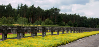 Cementary of Memory Stock Photography