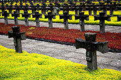Cementary of Memory Stock Image