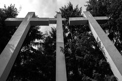 Cementary of Memory Royalty Free Stock Images