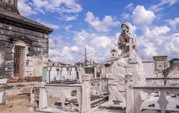 Cementary w Camaguey, Kuba Obrazy Royalty Free