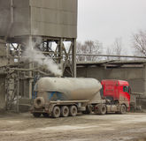 Cementbärare Royaltyfria Bilder
