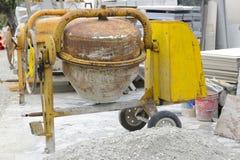 Cementblandare Arkivfoto