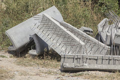 Cementblok Stock Afbeelding
