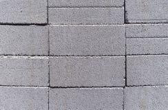 Cementblokken Achtergrond van de blokken van cementslakken royalty-vrije stock foto