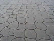 Cemented pavement Royalty Free Stock Photos