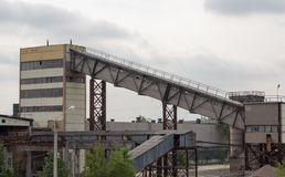 Cementera fabriken Arkivfoton