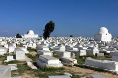 Cementerio árabe Foto de archivo libre de regalías