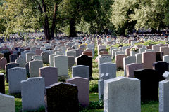 Cementerio. Fotos de archivo libres de regalías
