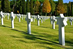 Cementerio Foto de archivo libre de regalías