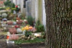 Cementerio Imágenes de archivo libres de regalías