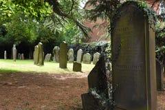 Cementerio Fotos de archivo libres de regalías