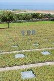 Cementerio alemán Maleme de la guerra Imágenes de archivo libres de regalías