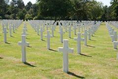 Cementerio americano Imagen de archivo