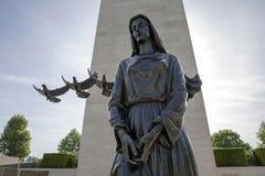 Cementerio americano de la guerra en Margraten imágenes de archivo libres de regalías