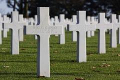 Cementerio americano en San Jaime Fotos de archivo