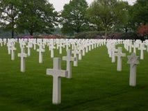 Cementerio americano holandés foto de archivo libre de regalías
