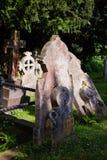 Cementerio antiguo en la iglesia de San Martín en Cantorbery Kent South Fotos de archivo libres de regalías