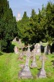 Cementerio antiguo en la iglesia de San Martín en Cantorbery Kent South Fotos de archivo