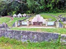 Cementerio chino fotografía de archivo