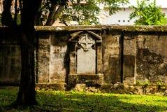Cementerio colonial en Georgetown, Malasia julio de 2015 Fotos de archivo libres de regalías