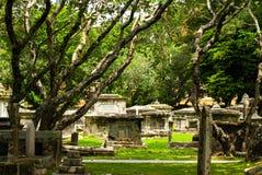 Cementerio colonial en Georgetown, Malasia julio de 2015 Imagen de archivo