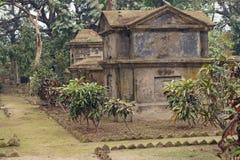 Cementerio cristiano en la India Imagenes de archivo
