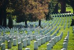 Cementerio de Arlington Foto de archivo libre de regalías