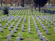 Cementerio de Arlington Imágenes de archivo libres de regalías