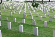 Cementerio de Arlington Foto de archivo