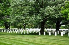 Cementerio de Arlington Fotos de archivo libres de regalías