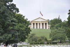 Cementerio de Arlington, el 5 de agosto: General Robert Lee House Arlington National Cemetery de la casa en Virginia Fotografía de archivo