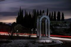 Cementerio de aviones, Alicante, España Imagen de archivo