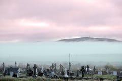 Cementerio de Ballybunion de la persona chapada a la antigua Foto de archivo libre de regalías